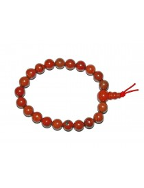 Bracelet Jaspe Rouge Mala Billes 8 mm