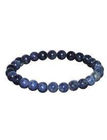 Bracelet Sodalite Billes 6 mm